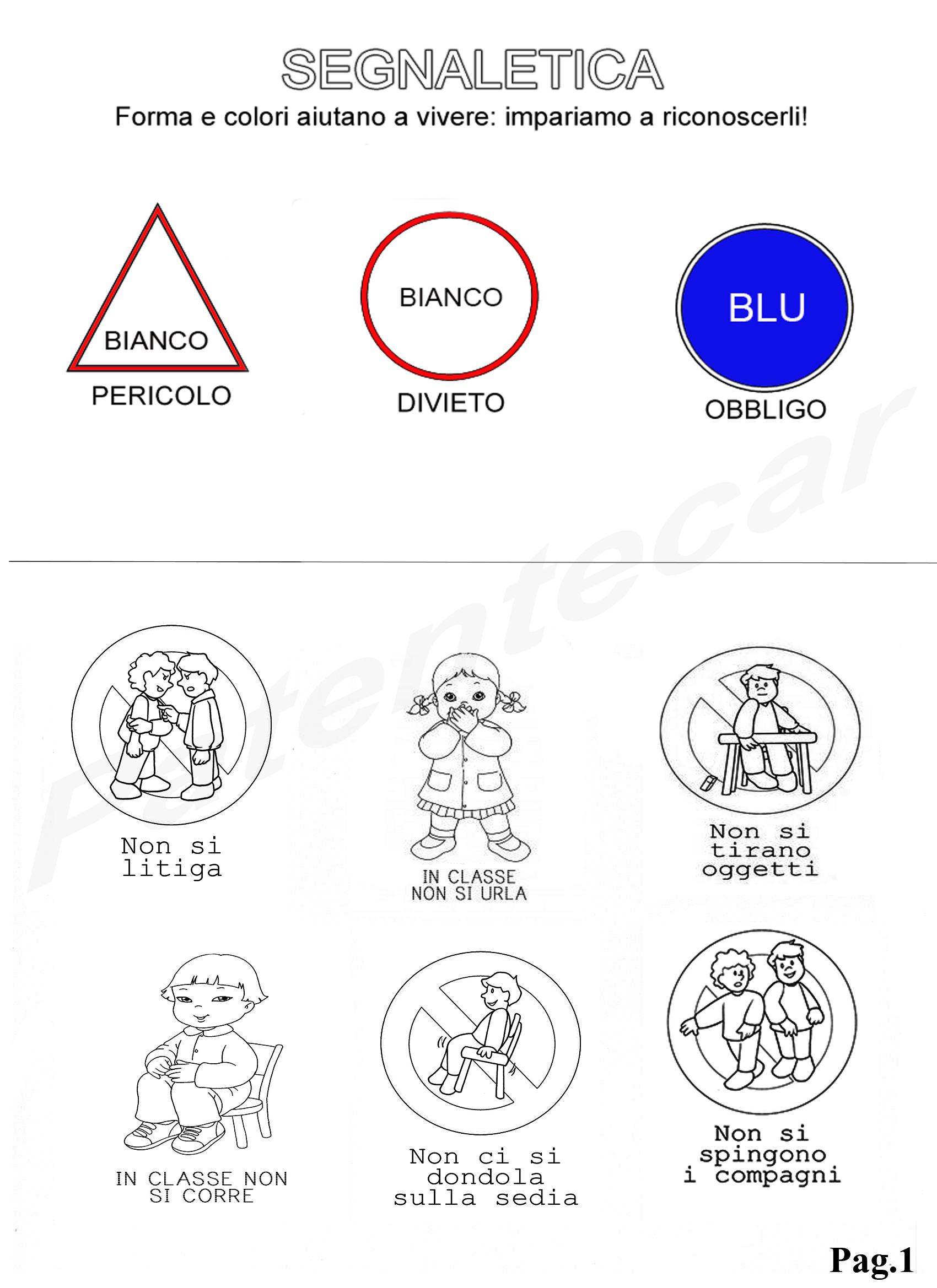 Educazione Stradale Per Bambini Patentecar